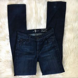 7 for All Mankind High Waist Skinny Leg Jean